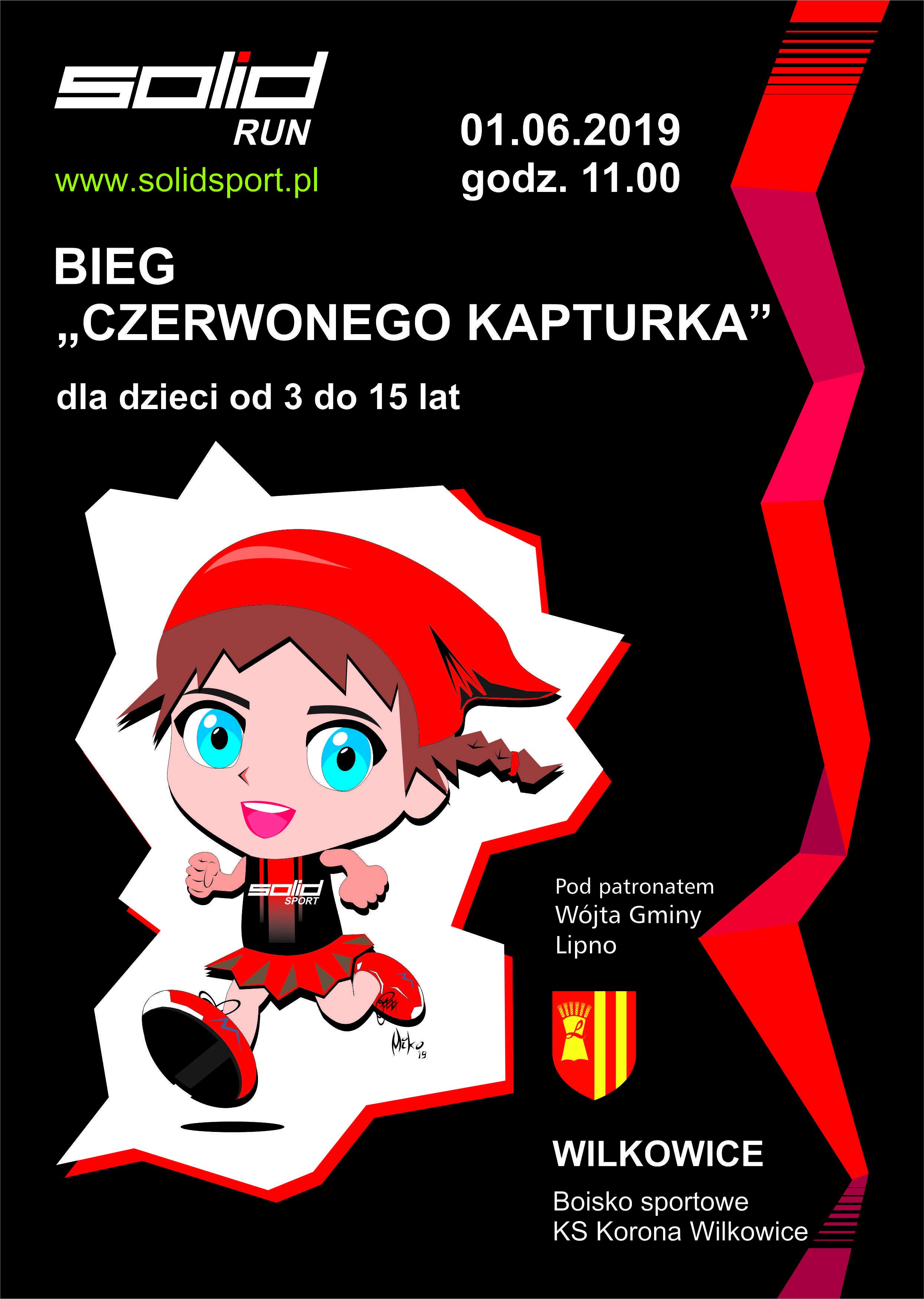 Bieg Czerwonego Kapturka w Wilkowicach