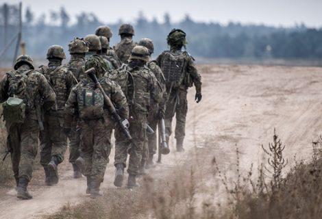 Mistrzostwa żołnierzy podczas Solid MTB w Śremie