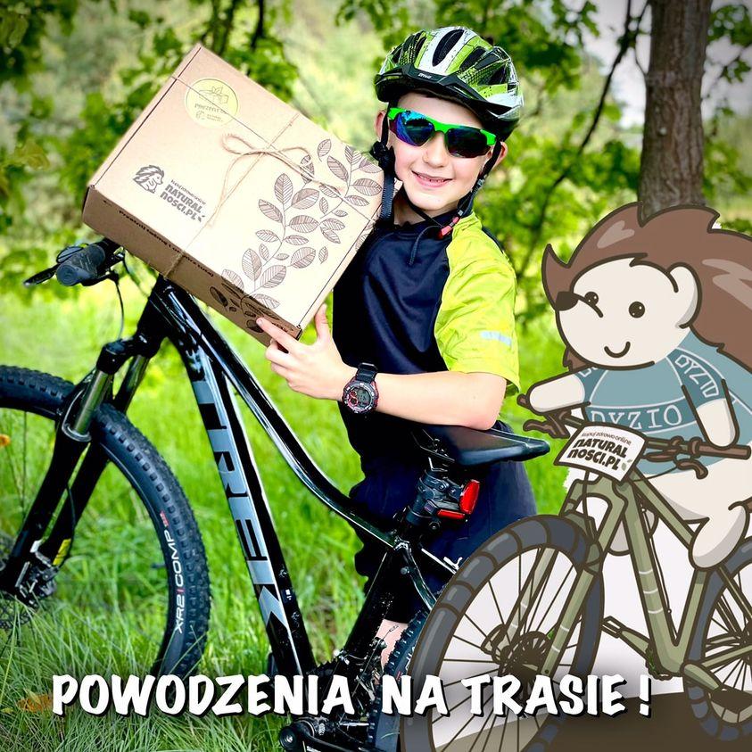 Sklep internetowy www.naturalnosci.pl jest także sponsorem nagród zawodów w Przyłęku